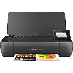 HP 250 Mobile AiO OfficeJet. Technologie d'impression: A jet d'encre thermique Impression: Couleur Copier: Couleur. Vitesse d'impression (noir qualité normale A4/US Letter): 10 ppm Résolution maximale: 4800 x 1200 DPI Vitesse d'impression (couleur qu...