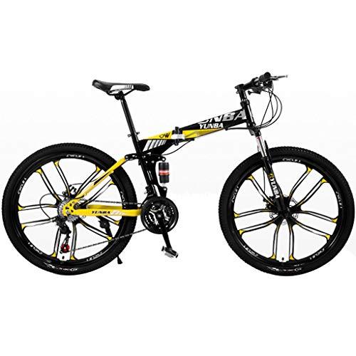 FFF-HAT 26 Pulgadas Bicicleta Todoterreno Bicicleta para Adu