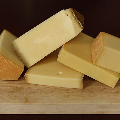 okäse Käseplatte Best of Schweiz - Schweizer Auswahl, 5 verschiedene Sorten Käse | Präsentkorb | Geschenk