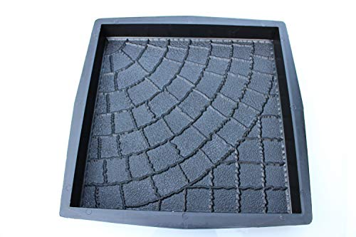 Plastic Mold Form for Beautiful Concrete Paver Stones for Patio and Garden (New)