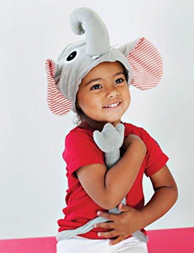 Elefant-Hut und Schwanz-Kostüm, ideal für Kinder und putzt sich vortäuschen Spiel