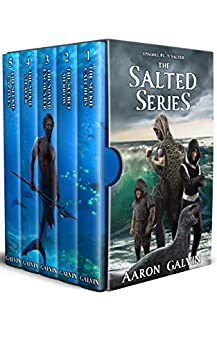 Salted: Episodes 1-5: An Epic Urban Fantasy Mermaid Series by [Aaron Galvin]