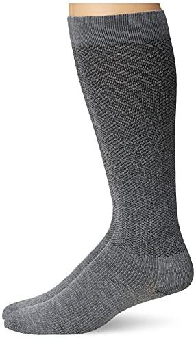 Dr. Scholl's Men's American Lifestyle Compression (2pk), Charcoal Heather, Shoe Size: 7-12 (Large)