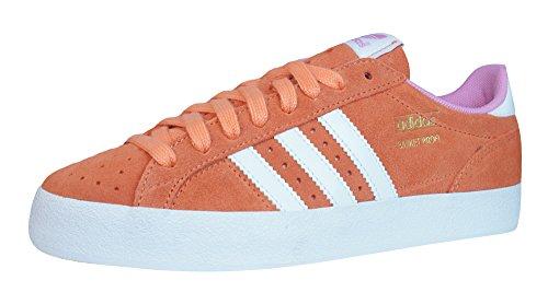 Adidas Originals - Scarpe da ginnastica Profi LO da donna in suede, Arancione (arancione), 40.5 EU