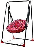 YGCBL Silla oscilante para niños Balcón Silla de interior Silla mecedora de bebé Adulto Hamaca al aire libre Cuna mecedora Silla oscilante