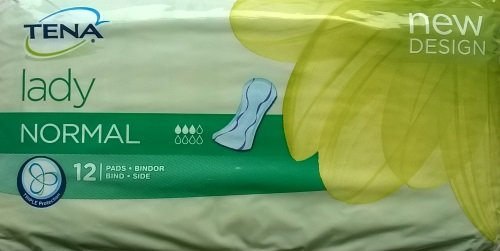 Tena Lady normale Pads - 3 x 12