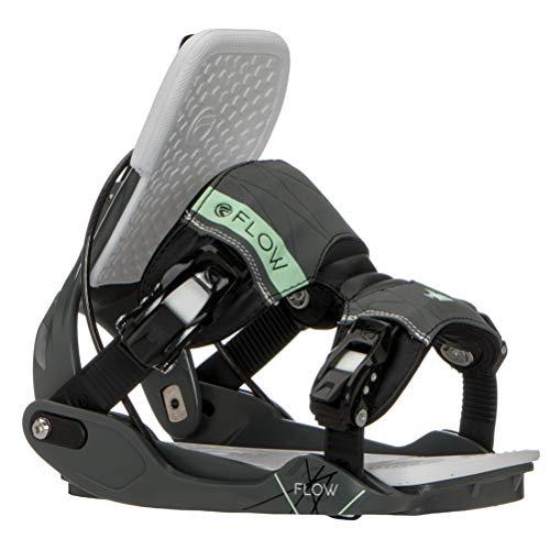Flow Minx Womens Snowboard Bindings - Large/Space Grey