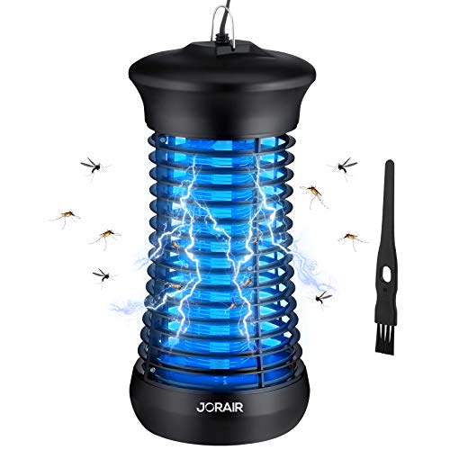 JORAIR Electric Bug Zapper, Electric Insect Mosquito Killer for Indoor & Outdoor Use, Waterproof Insect and Fly Trap for Patio, Backyard, Home, Office