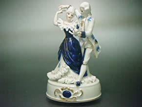 オルゴール ダンスW 陶製レースドール 【 陶器 人形 】