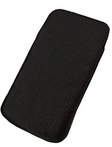 Flash Estrella Ancona caso de Samsung i9000 Galaxy S / i9001 Galaxy S Plus (cuero auténtico)