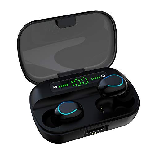 Luisport Wireless Headphones Earphones,Bluetooth Earbuds Wireless Earbuds Wireless Headphones Bluetooth Headphone (Q83-Black)