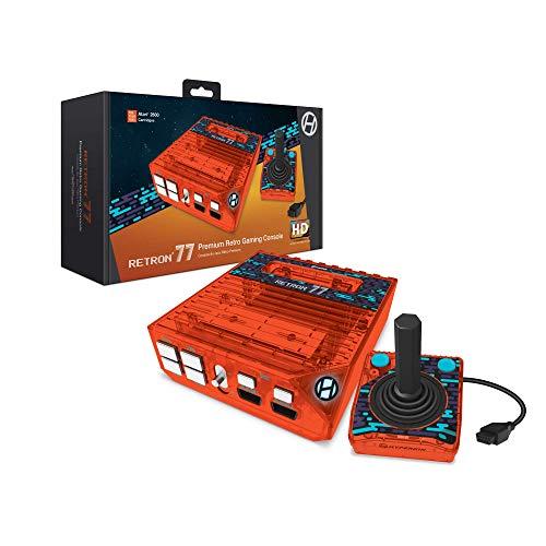 Hyperkin RetroN 77: HD Gaming Console for Atari 2600 (Retro Amber) - Not Machine Specific