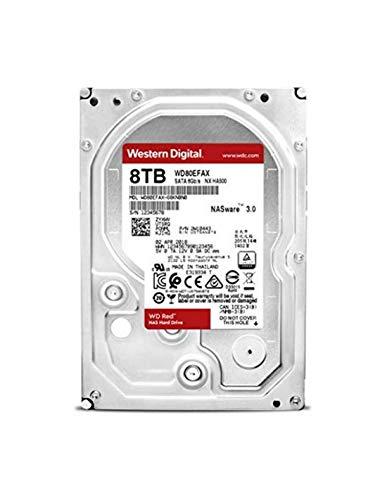 "Western Digital - Disco Duro Western Digital WD80EFAX 8 TB 3.5"" SATA III (Reacondicionado)"