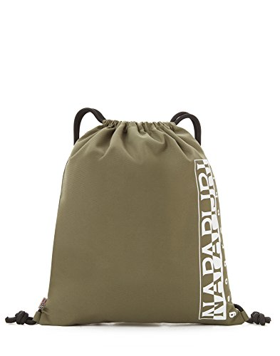 Napapijri Happy Gym Sack Rucksack, 42 cm, 18 L, Green Musk