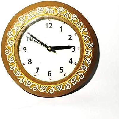 Cutrunn Wall Clock I Handmade I Pure I Cow Dung