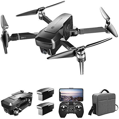 GPS Drone met 4K-camera voor volwassenen, 5G WiFi FPV Live video Opvouwbare drone GPS Return Home 2500Mah 30 minuten Vliegtijd Follow Me RC Drone Quadcopter voor beginners