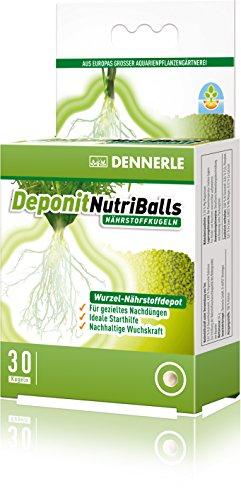 Dennerle Deponit NutriBalls - Der Universal-Wurzeldünger für Aquarienpflanzen - 30 Stück