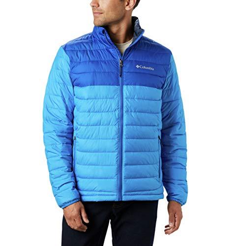 Columbia Men's Powder Lite Jacket, Azure Blue/Azul, Small