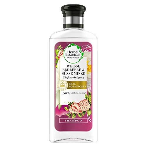 Herbal Essences PURE:renew White Strawberry Shampoo, Deep Cleansing