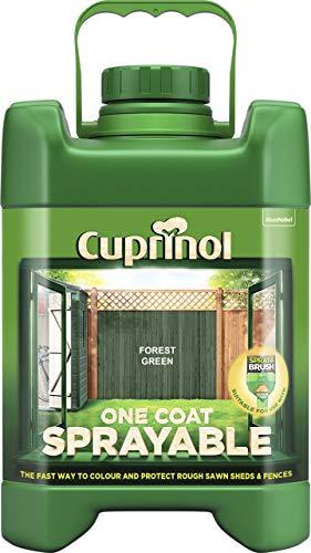 Cuprinol 5L Spray Fence Treatment - Forest Green