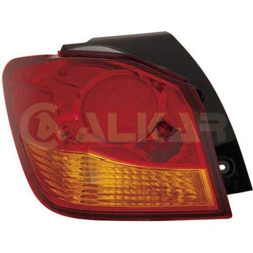 ASX (GA_W_) Rechts Beifahrerseite, Heckleuchte, ohne Lampenträger, LED, aussen, gelb