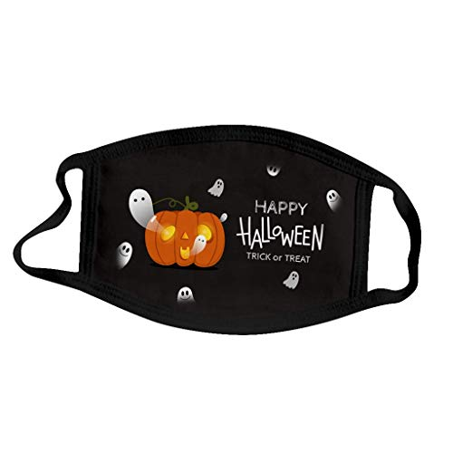 WoCoo 5PC Unisex Children Printed Halloween Outdoor Breathable Cycling (P)
