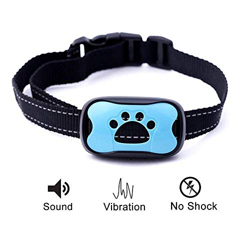 Dog Bark Collar | Anti Barking Training Collar | 100% Humane | Vibration & No Shock Dog Collar | Stop Barking Collar for Small Medium Large Dogs | Best No Barking Dog Collar