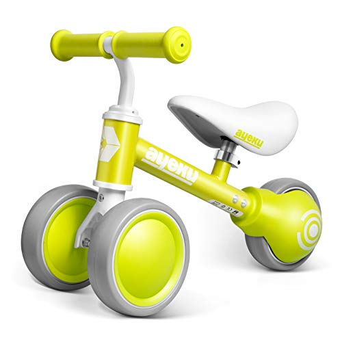 AyeKu Baby Balance Bike Toddlers Bikes for Age 1024 Months no Pedal Bike Best Toys Gifts for 1 Year Old Boys Girls with Comfortable Adjustable seat in 3 Wheels