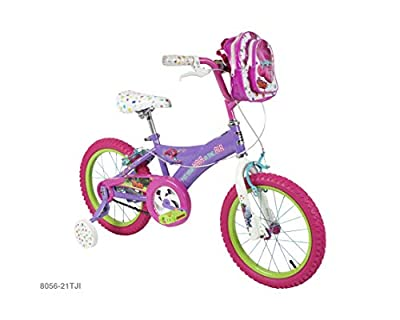 "Trolls 16"" Girls Bike - Purple, Light Purple"