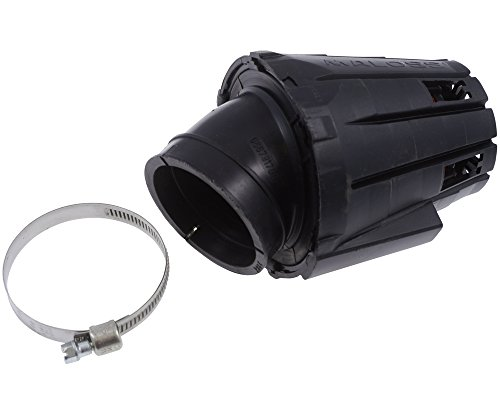 Luftfilter MALOSSI E5 PHF schwarze Kappe für APRILIA Leonardo (ROTAX) 125 Rotax 4T LC 95-