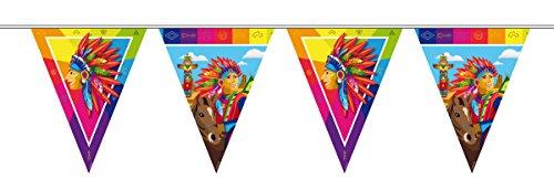Bandierine da festa Indiani - 10 metri