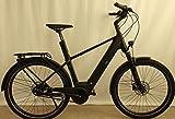 e-bike manufaktur Bicicleta eléctrica Bosch City 2020 (27,5 pulgadas, para hombre, diamante 55 cm, negro mate (hombre)