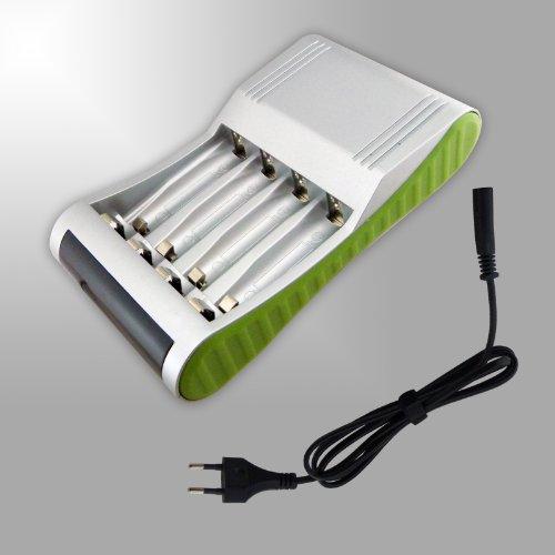 Ladegerät, Aufladegerät für Akku und normal Batterie 2 in 1. ABSOLUTE NEUHEIT