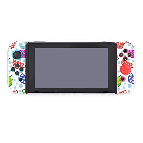 Schutzhülle für Nintendo Switch, bunte Becher, langlebige Schutzhülle für Nintendo Switch und Joy Con
