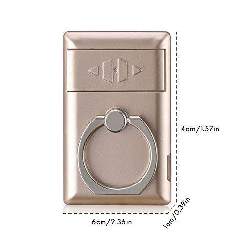 SayHia USB oplaadbare aansteker telefoonhouder oplaadbare sigarettenaansteker universele telefoonring gesp elektrische aanstekers