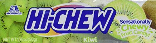 Hi-Chew Sensationally Chewy Japanese Fruit Candy, Kiwi, 1.76 Ounce