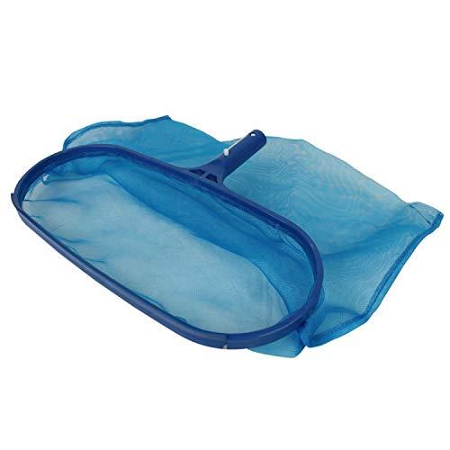 Linxor France ® Tête d'épuisette de fond bleu pour piscine adaptable sur manche standard ou télescopique - Norme CE