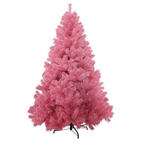 Sapin de Noël Arbre de Noël - Décoration de Noël Arbre Rose Décoration de Noël Décoration Arbre de Noël Paquet 120cm / 150cm (Couleur : Pink, taille : 65x120cm)