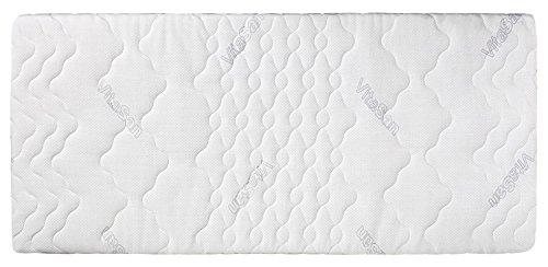 VitaSan Kaltschaummatratze, Weiß, 90 x 190 cm