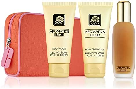 Clinique Aromatics Elixir Essentials Set Perfume Spray Body Smoother Body Wash product image