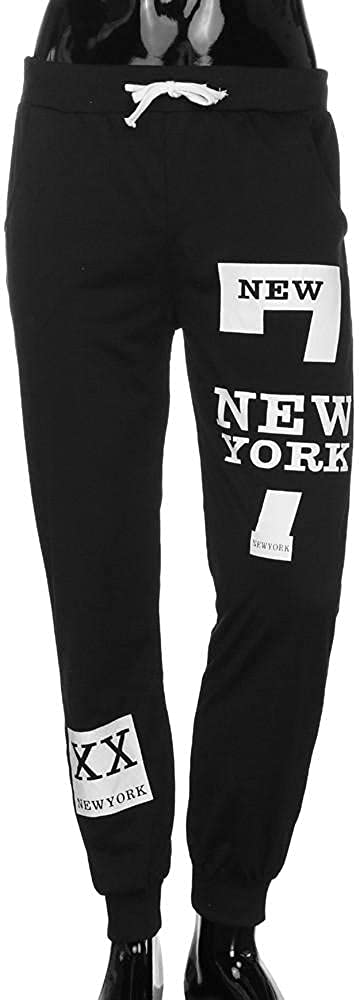 Mens Jogger Sweatpants Casual Tapered Sport Pants Cargo Hippie Loose Fit Trousers Athletic Workout Gym with Pocket