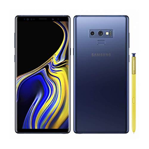 Samsung Galaxy Note 9, 128GB, Ocean Blue - Unlocked (Renewed)