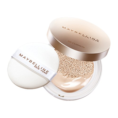 Japan Beauty - Meibe phosphorus Pure mineral BB fresh cushion case + refill set 01 Natural Beige *AF27* by Maybelline