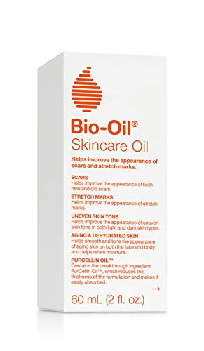 Bio-Oil Skincare Oil, 2 Ounce,   Body Oil for Scars and Stretchmarks, Hydrates Skin, Non-Greasy, Dermatologist Recommended, Non-Comedogenic, For All Skin Types, with Vitamin A, E