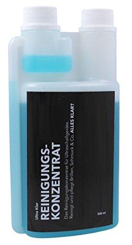 Ultraschallreiniger Ultra-Klar Konzentrat Dosierflasche 500ml