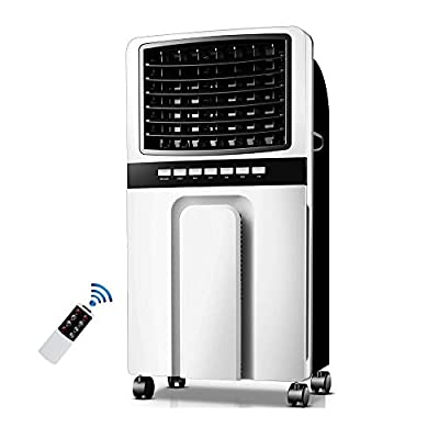 Hammer Portable Air Conditioner with Heater Mode - Conveniently Cools Rooms 350 to 500 Square Feet - LED Display, Auto Shut-Off, Remote and Dehumidifier Function