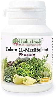 Folato L-metilfolato 1000μg x90 cápsulas. 5-MTHF Forma activa