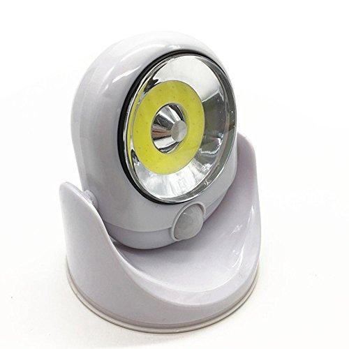 Fasclot 360-Degrees Light Cordless Motion Activated Sensor Light LED Light Swivels Home & Garden LED Light for Fourth of July