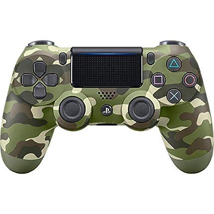 Import USA - Mando DualShock 4 Verde Camouflage, Edición Nueva - Reedición (PS4)