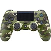 Sony Manette PlayStation 4 officielle, DUALSHOCK 4, Sans fil, Batterie rechargeable, Bluetooth, Green Camo (Vert Camouflage)